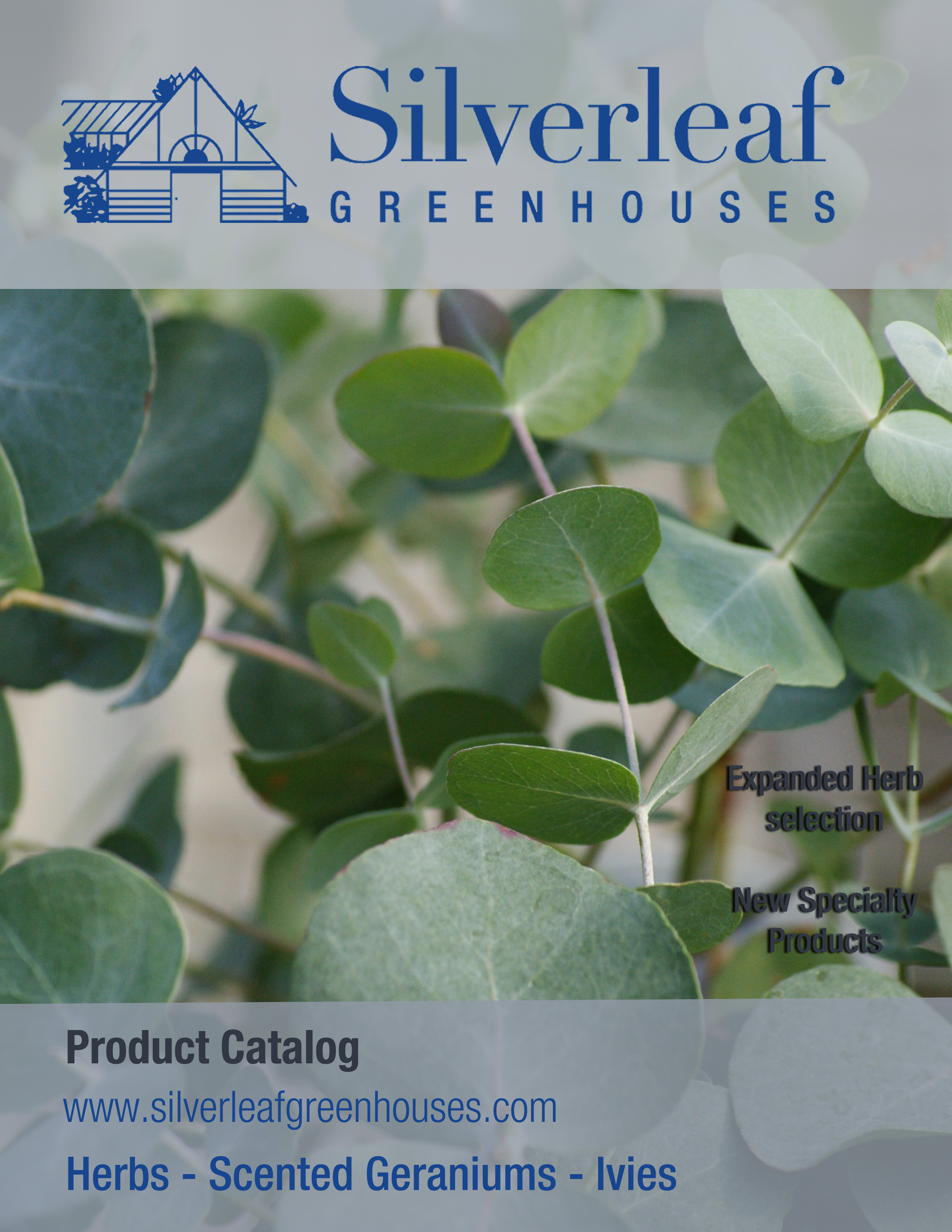 2014-2015 Silverleaf Product Catalog Cover